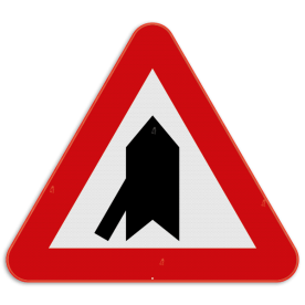 Verkeersbord SB250 B15b - Voorrang op kruisende zijweg