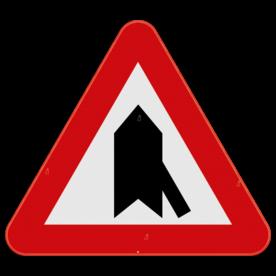 Verkeersbord SB250 B15g - Voorrang op kruisende zijweg
