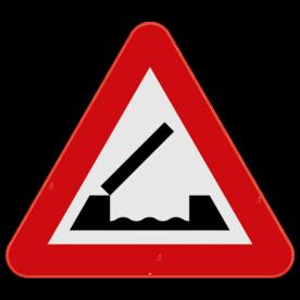 Verkeersbord SB250 A9 - Beweegbare brug