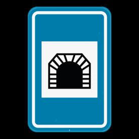 Verkeersbord SB250 F8 - Tunnel