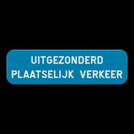 Verkeersbord SB250 G type IV - Beperking of verbod