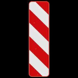 Verkeersbord SB250 Type Ib1 - Baken voor signalisatie op afstand, rechts