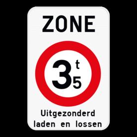 Verkeersbord SB250 ZC21T