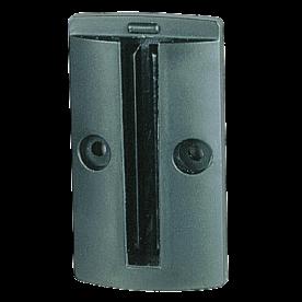 Wandclip voor Afzetpaal met lint (50mm hoog)