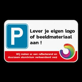 Parkeerplaats bord 4:2- Jouw ontwerp