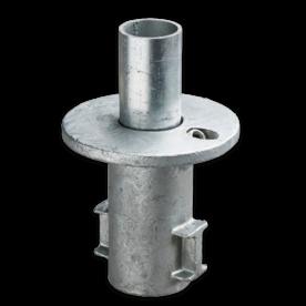 Straatpot - Buiskoppeling verzinkt staal