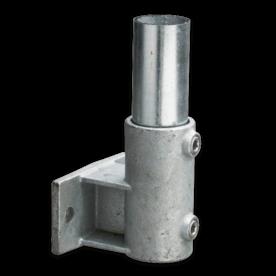 Boeiboordbevestiging horizontaal - Buiskoppeling verzinkt staal