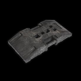 Baakvoet gerecycled kunststof - 24 kg