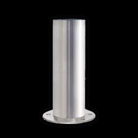 RVS afzetpaal Ø154-204mm - vast