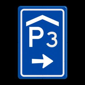 Verkeersbord RVV BW202r met nummer
