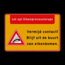 Informatiebord - Eikenprocessierups