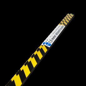 Deur- raamstickers 1150x50mm - 1,5m afstand houden (set 2 stuks)