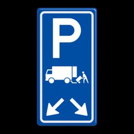 Verkeersbord RVV E07 met aanpasbare pijlrichting