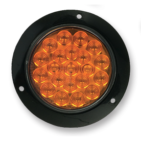 Lampunit Ø100mm 21 leds - 12V - amber