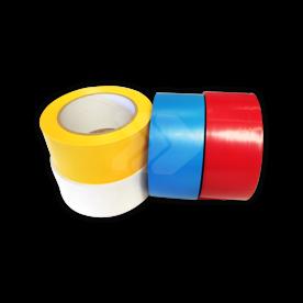 Vloertape rol vinyl (indoor)   50mm - 33 meter   geel, blauw, rood of wit