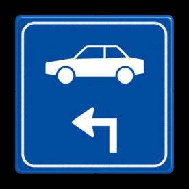 Verkeersbord - Routeverwijzing auto