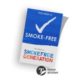 Smoke Free Generation - Sticker