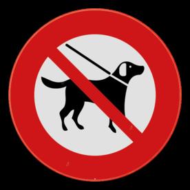 Verbodsbord - Honden