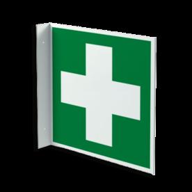 Haaks bord E003 - EHBO middelen