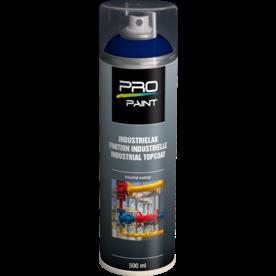 Industrielak blauw - 500 ml - hoogglans