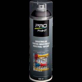 Industrielak zwart - 500 ml - mat/hoogglans