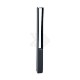 Trottoirpaal - type Almere - antracietgrijs DB703 (fijnstructuur)