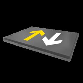 Vloermarkering - pijlen - wegenverf