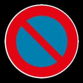 Vloersticker - Verkeersteken België