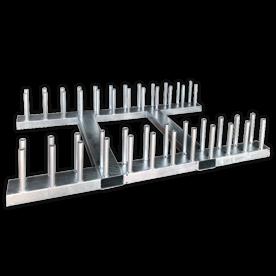 Bordenrek voor verkeersborden met palen 48mm