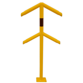 Veiligheidsrailing - Rond - Hoekstuk