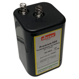Blokbatterij 6V (7-9Ah)