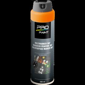 Multimarker fluorescerend oranje - 360 graden spuitkop - 500 ml