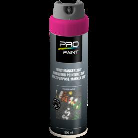 Multimarker fluorescerend roze - 360 graden spuitkop - 500 ml