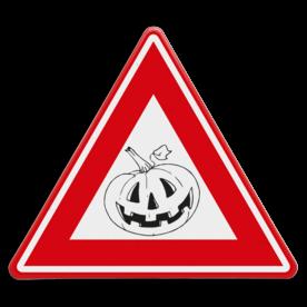 Verkeersbord Halloween