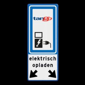Verkeersbord RVV BW101_SP19+tekst+logo-BE08a