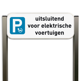 Parkeerbord elektrisch opladen type TS