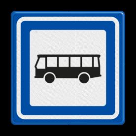 Verkeersbord RVV L03b - Bushalte