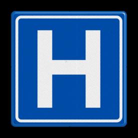 Verkeersbord RVV BW101 Hospitaal