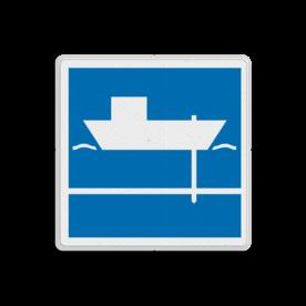 Scheepvaartbord BPR E. 6.1 - Toestemming gebruik te maken van spudpalen