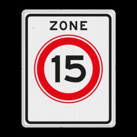 Verkeersbord RVV A0115zb
