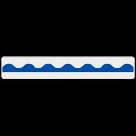 Plank Einde looppad 1200x200mm - klasse 3