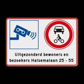 Camerabewaking toegang voor bezoekers