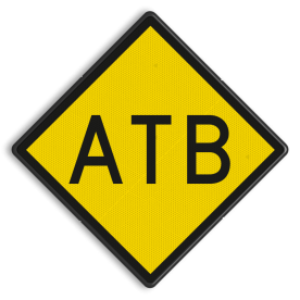 ATB-inschakelbord - RS 328 - 500x500mm - Reflecterend
