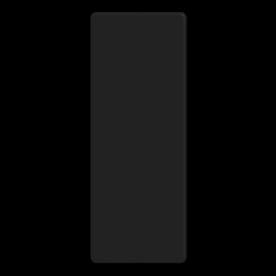 Kenbord zwart t.b.v. portaalsein - RS - 300x800mm