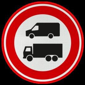 Verkeersbord RVV C22c Einde nul-emissiezone