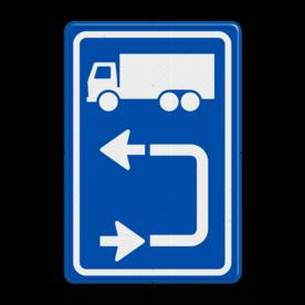 Inritbord BT15blo - vrachtwagens linksom