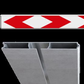 Schrikhekplank RVV BB17-1 Verzwaard profiel pijlmotief, 2 richtingen