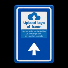 Bewegwijzering met LOGO BW101 + pijlfiguratie