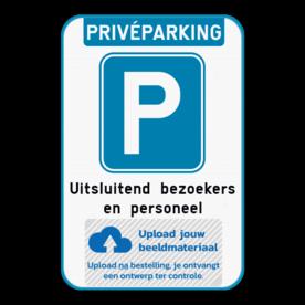 Parkeerbod - privéparking met eigen logo
