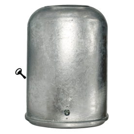Afvalbak 45L Ovaal (Verzinkt staal)